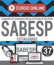 Curso On-Line ESTAGIÁRIO - ENSINO MÉDIO, TÉCNICO E SUPERIOR - Concurso SABESP 2019