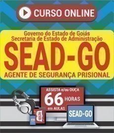 Curso On-Line AGENTE DE SEGURANÇA PRISIONAL - Concurso SEAD GO 2019