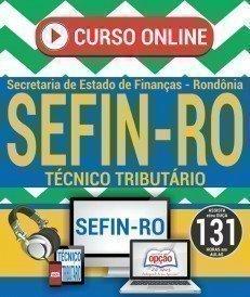 Curso On-Line TÉCNICO TRIBUTÁRIO - Concurso SEFIN RO 2018