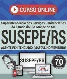 Curso On-Line AGENTE PENITENCIÁRIO (MASCULINO/FEMININO) - Concurso SUSEPE 2017