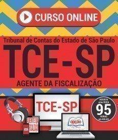 Curso On-Line AGENTE DA FISCALIZAÇÃO - Concurso TCE SP 2017