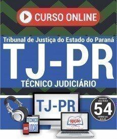 Curso On-Line TÉCNICO JUDICIÁRIO - Concurso TJ PR 2018