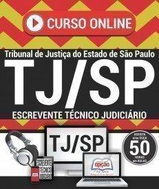 Curso On-Line ESCREVENTE TÉCNICO JUDICIÁRIO - Concurso TJ SP 2017