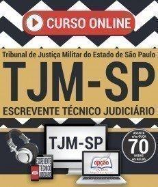 Curso On-Line ESCREVENTE TÉCNICO JUDICIÁRIO - Concurso TJM SP 2017