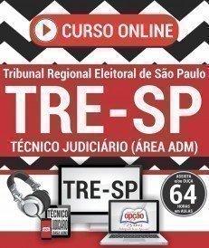 Curso On-Line TÉCNICO JUDICIÁRIO - ÁREA ADMINISTRATIVA - Concurso TRE SP 2017