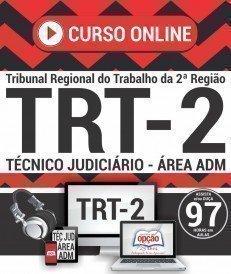 Curso On-Line TÉCNICO JUDICIÁRIO - ÁREA ADMINISTRATIVA - Concurso TRT 2ª Região 2018