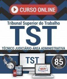 Curso On-Line TÉCNICO JUDICIÁRIO - ÁREA ADMINISTRATIVA - Concurso TST 2017