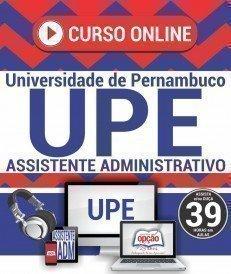 Curso On-Line ASSISTENTE ADMINISTRATIVO - Concurso UPE 2017