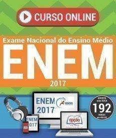 Curso On-Line EXAME NACIONAL DE ENSINO MÉDIO - ENEM (4 Volumes) - ENEM 2018