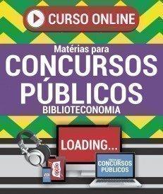 Curso On-Line BIBLIOTECONOMIA - Matérias para Concursos Públicos