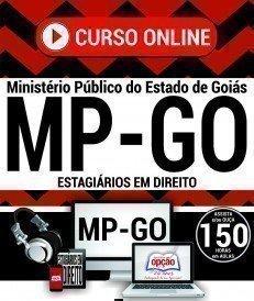 Curso On-Line ESTAGIÁRIOS EM DIREITO - Processo Seletivo MP GO 2017