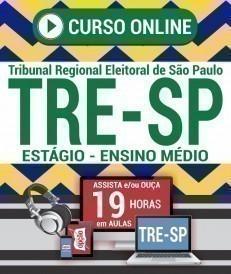 Curso On-Line ESTÁGIO - ENSINO MÉDIO - Processo Seletivo TRE SP 2019