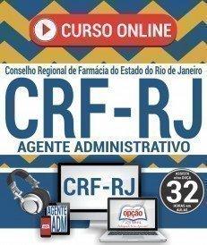 Curso On-Line AGENTE ADMINISTRATIVO - Seleção Pública CRF RJ 2018