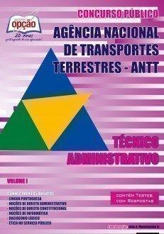 Apostila Técnico Administrativo (volume I) - Concurso Agência Nacional De Tran...