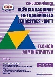 Apostila Técnico Administrativo (volume Ii) - Concurso Agência Nacional De Tra...