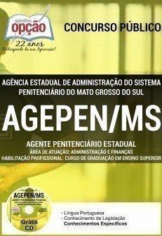 AGENTE PENITENCIÁRIO ESTADUAL - ADMINISTRAÇÃO E FINANÇAS