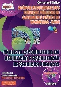 ANALISTA ESPECIALIZADO EM REGULAÇÃO E FISCALIZAÇÃO DE SERVIÇOS PÚBLICOS