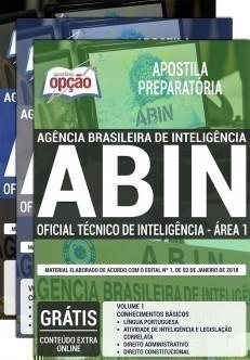 OFICIAL TÉCNICO DE INTELIGÊNCIA - ÁREA 1