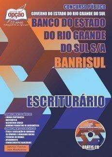 apostila Escriturário Banrisul RS