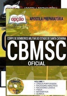 Apostila Concurso CBMSC de Santa Catarina - OFICIAL