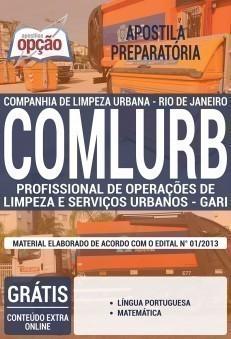 PROFISSIONAL DE OPERAÇÕES DE LIMPEZA E SERVIÇOS URBANOS - GARI