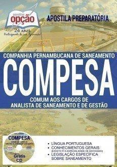 Apostila Compesa-PE ANALISTA DE SANEAMENTO E GESTÃO