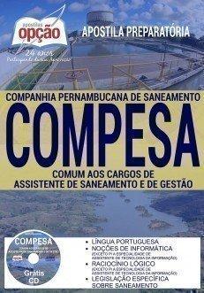 Apostila Compesa PE, ASSISTENTE DE SANEAMENTO E GESTÃO