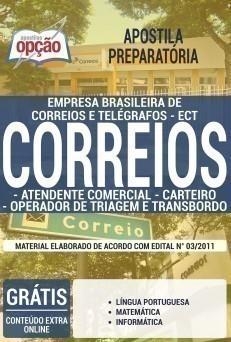 ATENDENTE COMERCIAL, CARTEIRO, OPERADOR DE TRIAGEM E TRANSBORDO