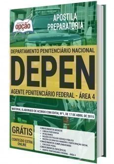 AGENTE PENITENCIÁRIO FEDERAL - ÁREA 4