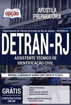 ASSISTENTE TÉCNICO DE IDENTIFICAÇÃO CIVIL