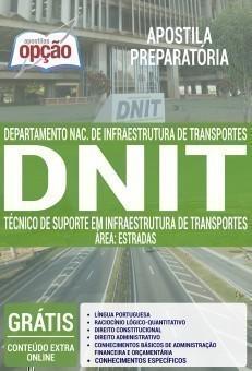 TÉC. DE SUPORTE EM INFRAESTRUTURA DE TRANS. - ÁREA ESTRADAS