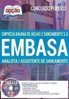 ANALISTA E ASSISTENTE DE SANEAMENTO