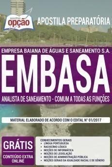 ANALISTA DE SANEAMENTO - COMUM A TODAS AS FUNÇÕES