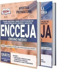 Concurso ENCCEJA 2020 - ENCCEJA - ENSINO MÉDIO