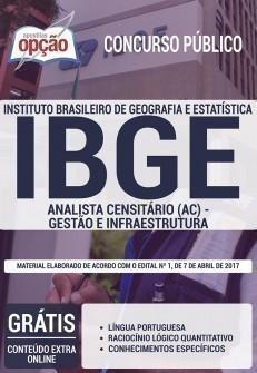 ANALISTA CENSITÁRIO (AC) - GESTÃO E INFRAESTRUTURA