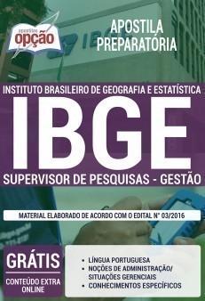 SUPERVISOR DE PESQUISA - GESTÃO