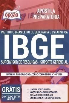 SUPERVISOR DE PESQUISAS - SUPORTE GERENCIAL