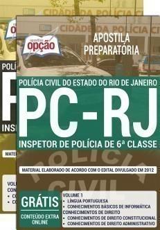 INSPETOR DE POLÍCIA DE 6ª CLASSE