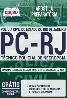 TÉCNICO POLICIAL DE NECROPSIA