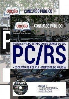 ESCRIVÃO DE POLÍCIA E INSPETOR DE POLÍCIA