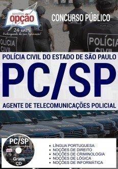 Apostila PC-SP Agente de Telecomunicações - PCSP.