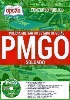 Apostila Concurso PM de Goias Cadete GRÁTIS CD 2016