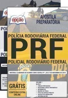 Apostila PRF Policial Rodoviário Federal (Preparatória)