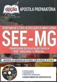 PROFESSOR DE EDUCAÇÃO BÁSICA - PEB - BIOLOGIA / CIÊNCIAS