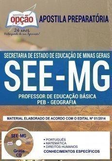 PROFESSOR DE EDUCAÇÃO BÁSICA - PEB - GEOGRAFIA