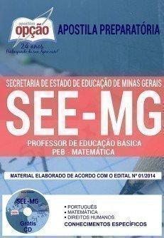 PROFESSOR DE EDUCAÇÃO BÁSICA - PEB - MATEMÁTICA