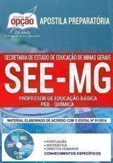 PROFESSOR DE EDUCAÇÃO BÁSICA - PEB - QUÍMICA