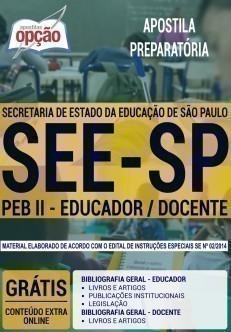 PEB II - EDUCADOR / DOCENTE