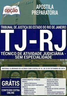 TÉCNICO DE ATIVIDADE JUDICIÁRIA SEM ESPECIALIDADE
