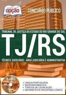 TÉCNICO JUDICIÁRIO - ÁREA JUDICIÁRIA E ADMINISTRATIVA